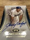 2018 Topps Tier One Sandy Koufax AUTO Autograph Numbered 15 15 RARE!
