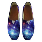 Galaxy Boat Shoes for Mens Casual Slip On Loafers Lightweight Flat Sneakers Boy