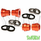 RFX F&R Wheel Spacers Bearings & Seals fit KTM 450 500 EXC-F 16-20 Orange