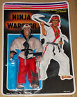 Vintage KO He-man Ninja Warrior Bootleg Knock Off Action Figure Karate Kid MOSC