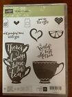 Stampin Up Stamp Set A Nice Cuppa Cups And Kettle Framelets Paper