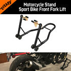 SPORT BIKE MOTORCYCLE WHEEL LIFT STAND FRONT FORK SWINGARM Universal Fit BMW