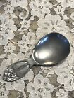 Arts Crafts Pewter Tea Caddy Spoon