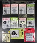 G Studio Clear Scrapbook Stamps You Choose Valentines Easter St Patricks Baby