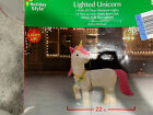 Christmas 22 Lighted UNICORN In Outdoor Yard Decoration 2018 New