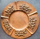 Arts and Crafts Hand Hammered Copper Plate Stamped Stahler Arts