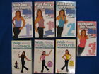 7 Fitness VHS Leslie Sansone Walk Away The Pounds For Abs 1 2 3 Miles Brand New
