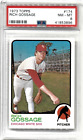 1973 Topps Rich Goose Gossage RC Rookie #174 HOF PSA 8 - Free Shipping