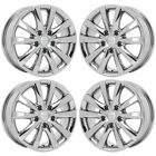 17 CHRYSLER TOWN  COUNTRY PVD CHROME WHEELS RIMS FACTORY OEM 2531 EXCHANGE
