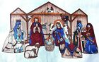 Christmas Nativity Manger Creche Fabric Panel Cut Sew Cranston Keepsakes