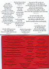 unmounted Religious rubber stamps  Bible Verses  9 images
