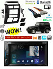1997-2002 JEEP WRANGLER Car Stereo Kit GPS NAVIGATION BLUETOOTH MP3 USB AUX DVD