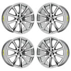 19 JAGUAR XJ XJL ALEUTIAN PVD CHROME WHEELS RIMS FACTORY OEM 59869 70 EXCHANGE