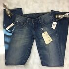 New With Tags Buffalo David Bitton Jem Vintage Wash Bootcut Jeans Size 26