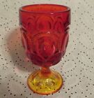 Yellow Stemmed Drinking Glass
