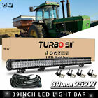 39 LED Light Bar + Wires For Honda Pioneer Can Am 4X4 Ford Arctic Cat Alterra