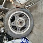 1980 honda cm400t. Rear rim with sprocket. Both Foot Peg Brackets