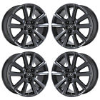 19 LEXUS GS350 GS450 F SPORT BLACK CHROME WHEELS RIM FACTORY OEM 74296 EXCHANGE