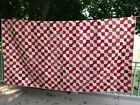 Vintage late 1800's bow tie quilt 66