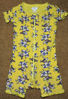 Made With Love By Place Baby Pajama One Piece 12 18 Months Swimming Dog Yellow