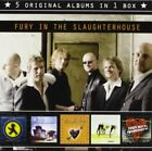 FURY IN SLAUGHTERHOUSE - 5 Original Albums - CD - Box Set Import Limited NEW