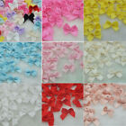 20 100Pcs Mini Satin Ribbon Flowers Bows Gift Craft Wedding Decoration ornament