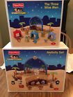 Fisher Price Little People Christmas Nativity  3 Wise Men Play Sets 2008 RARE