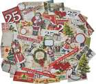 Idea Ology Ephemera Pack 86 Pkg Snippets Tiny Die Cuts Christmas 040861937657