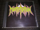MORTIFICATION S/T 1ST CD ALTERNATE COVER RARE! BELIEVER TOURNIQUET OPPROBRIUM