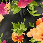 Paradise 8453 J Foral Black Background for Maywood Studios 1 2 Yard quilt fabric