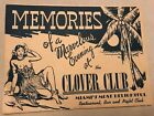 Clover Club Memories Vintage Photo Miami Florida 1940s