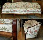 vtg Hickory Chair Co / Federal Hepplewhite style camelback sofa / pickup only