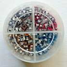 Brand NEW Squares Paper Eyelets Stampin Up Container 4 Scrapbooking Paper Crafts