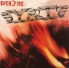 Y&T - Open Fire - CD - Extra Tracks Import Limited Edition Original NEW