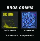 BROS GRIMM - Numbers/good Times - CD - Digital Sound Original Recording NEW