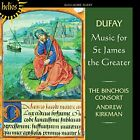 G. DUFAY - Music For St James Greater - CD - Import - **BRAND NEW/STILL SEALED**