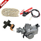 49cc 25H Chain Throttle Grip Motor Engine Red button Kill Switch For Motorbike