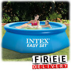 Inflatable Swimming Pool 8x30 Lounge Adult Kid Family Round Above Ground
