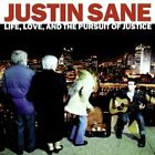 JUSTIN SANE - Life Love & Pursuit Of Justice - CD - **Excellent Condition**
