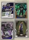 Prestige Tavon Young Autograph+Panini Certified Terrell Suggs Ogden #'d Cards