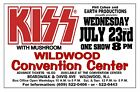 KISS 1975 Wildwood Convention Center Wwood NJ Art Rendition Poster THouse 2015