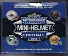 2018 Leaf Autographed Mini Helmet Football Box