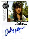 2013 Press Pass Parks and Recreation Autographs Guide 15