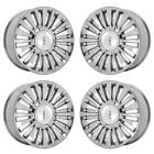 22 LINCOLN NAVIGATOR PVD CHROME WHEELS RIMS FACTORY OEM SET 4 10026