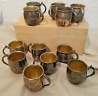 F B Rogers Punch Cups Silverplate Set of 12