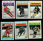 Vintage Lot over 200 OPC HOCKEY CARDS from