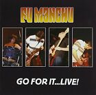FU MANCHU - Go For It Live - 2 CD - Live - **Mint Condition** - RARE