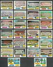 1977 Topps Baseball LOT 26 ALL Team Cards Yankees Dodgers+ Lower Grades