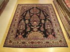 10 x 12.7 Hand Knotted Persian (Gardens of Paradise Design) Rug _Fine Kork Wool
