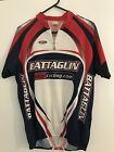 Vintage Italian Tinazzi Cycling Jersey Mens Rear Pockets Great Condition XXL